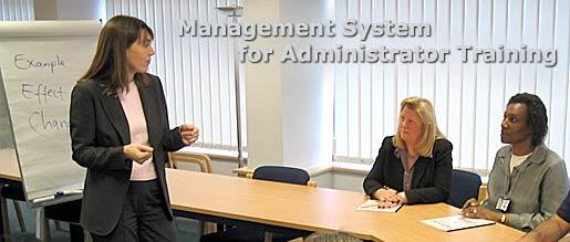 Management System for Administrator Training